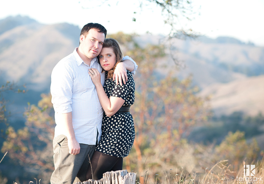northern California engagement images