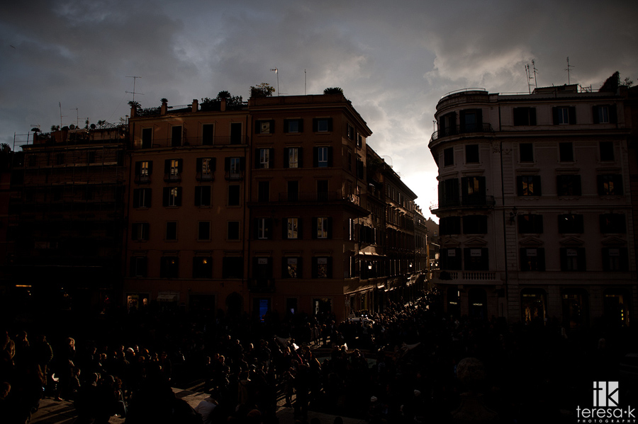image of Rome by the Spanish steps