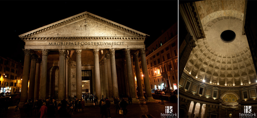 image of the pantheon in Rome Italy