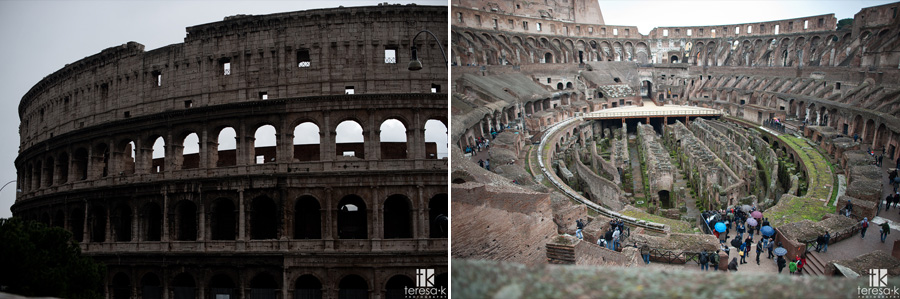 image of the interior and exterior of the coliseum
