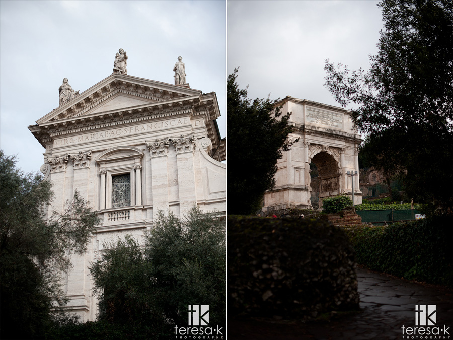 images from the roman forum in Italy
