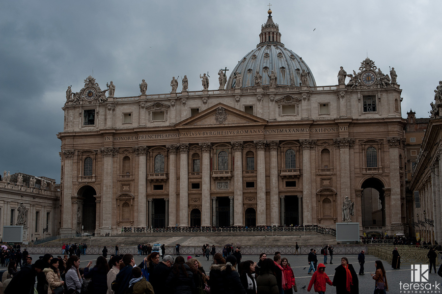 the Vatican city and st peters basilica