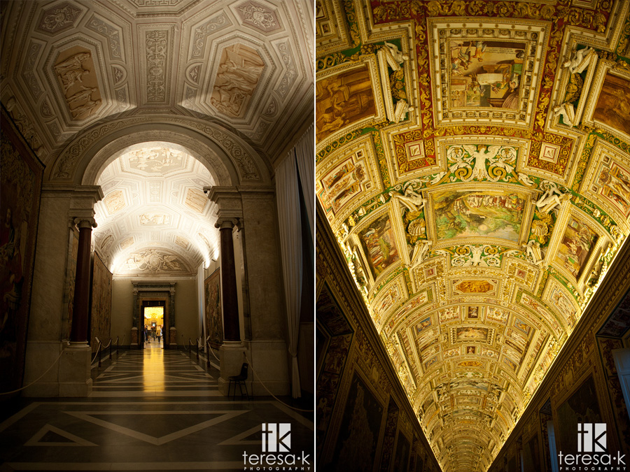interior of the Vatican city in Rome