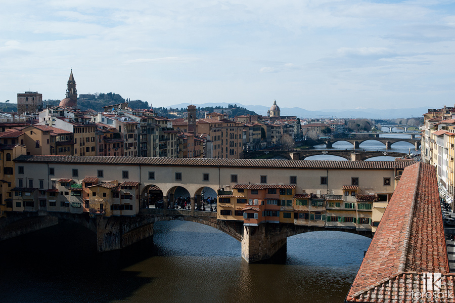 main waterway in Florence