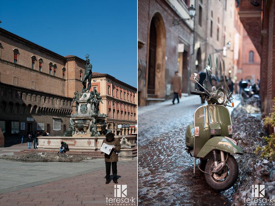 bologna Italy in February