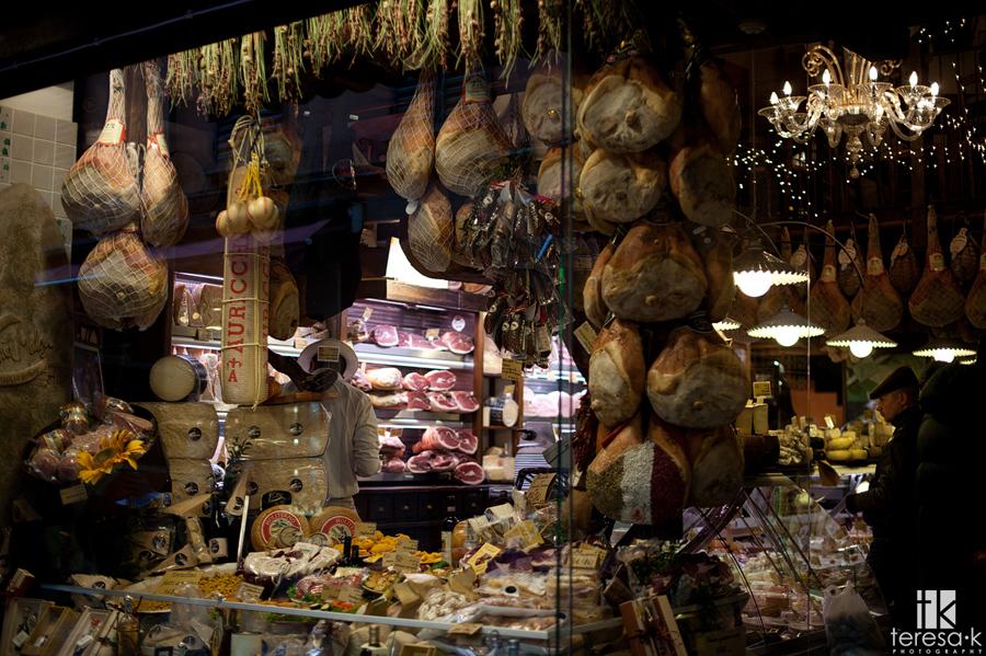 yummy Italian cured meats in Italy