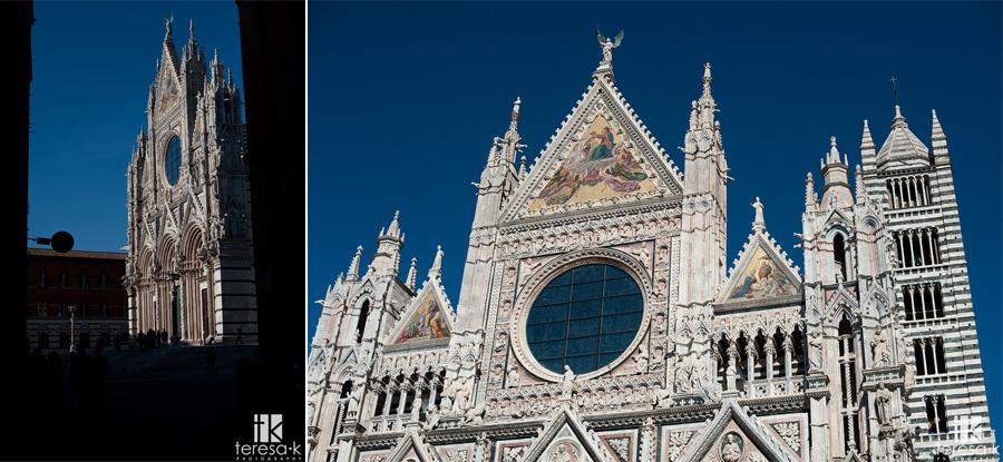 sienna church in Italy