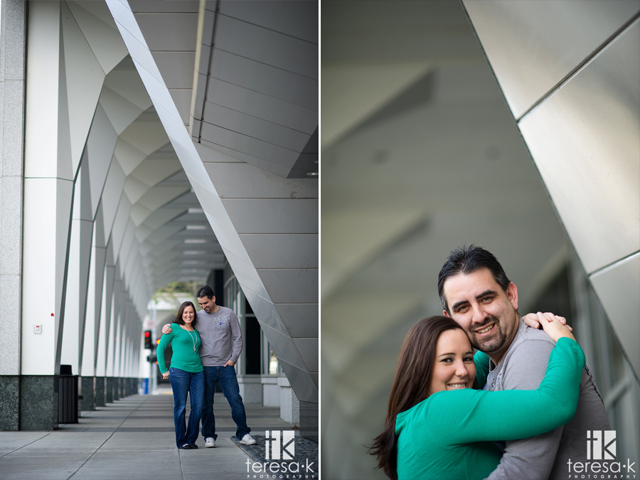 Sacramento downtown engagement