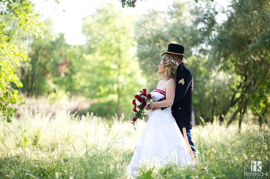 beautiful backlit bridal portraits