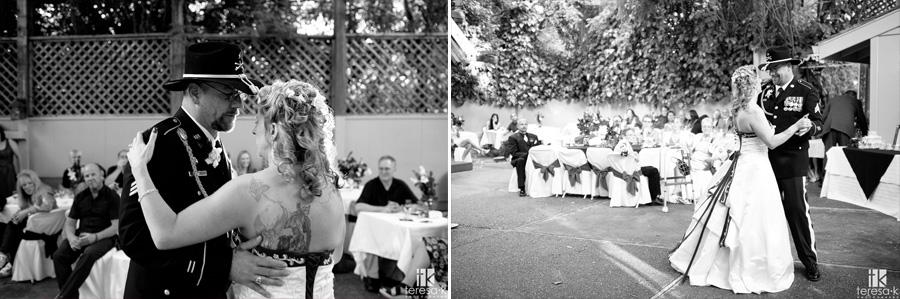 oak Leigh wedding reception