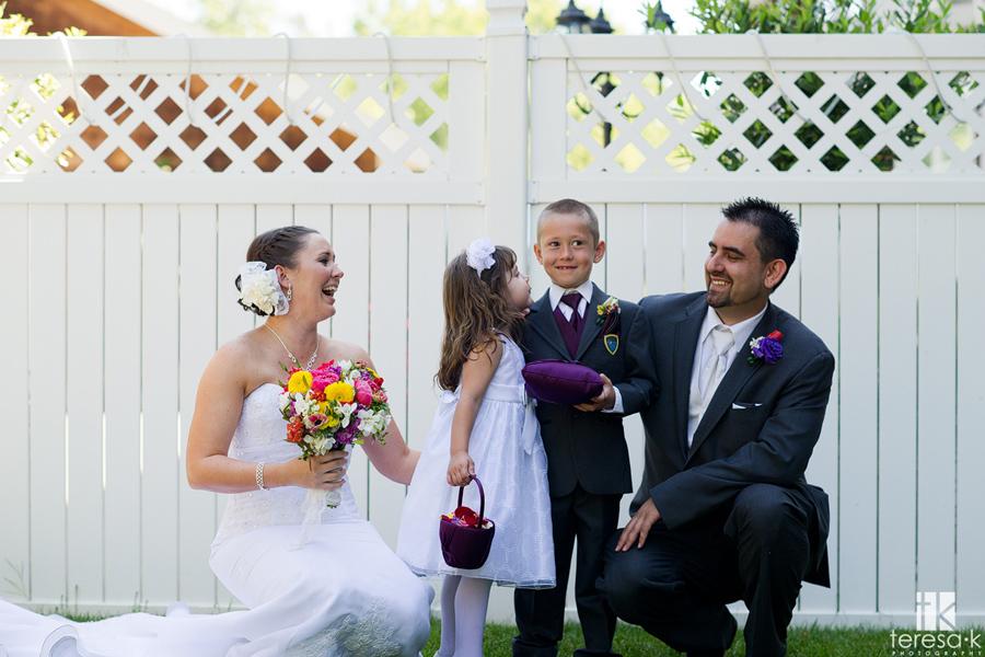 Folsom family wedding formals