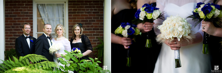 lower sierra foothill wedding photo