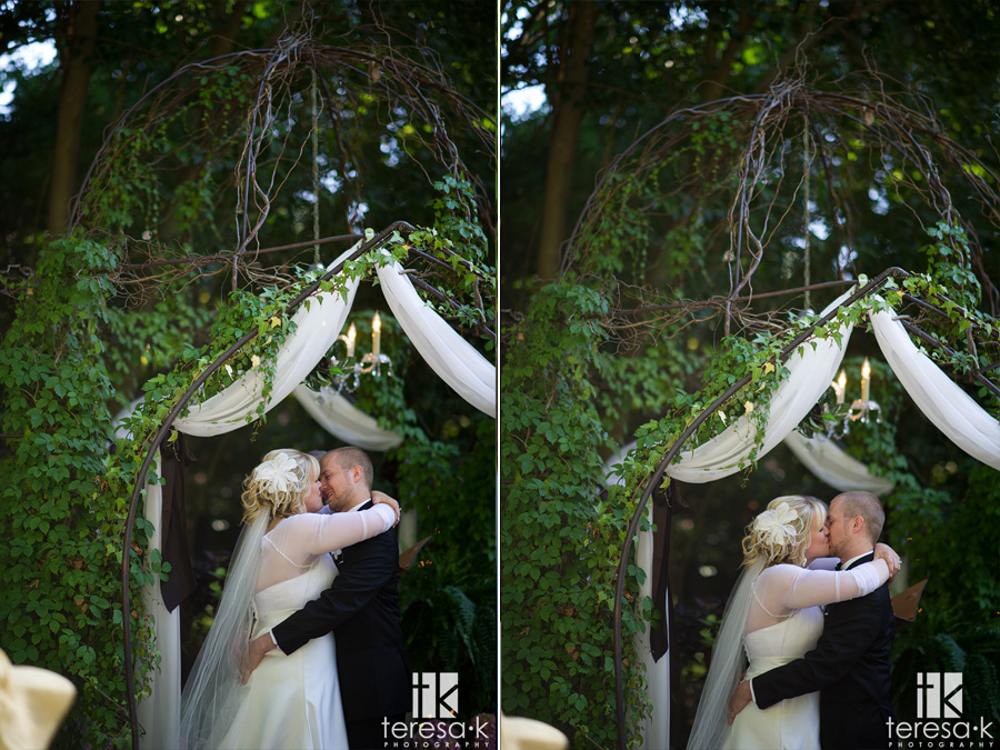 first kiss at husband and wife