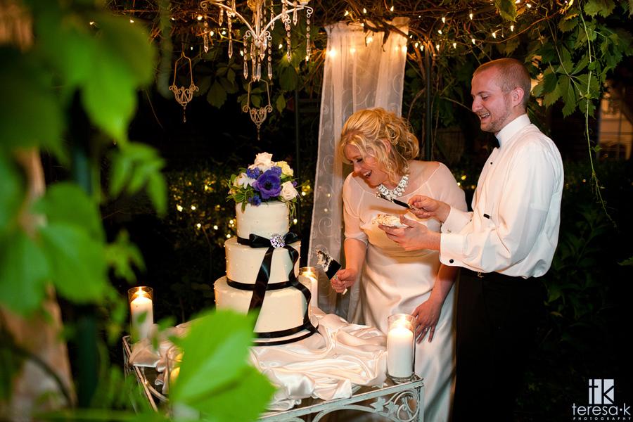 heirloom in night wedding photos