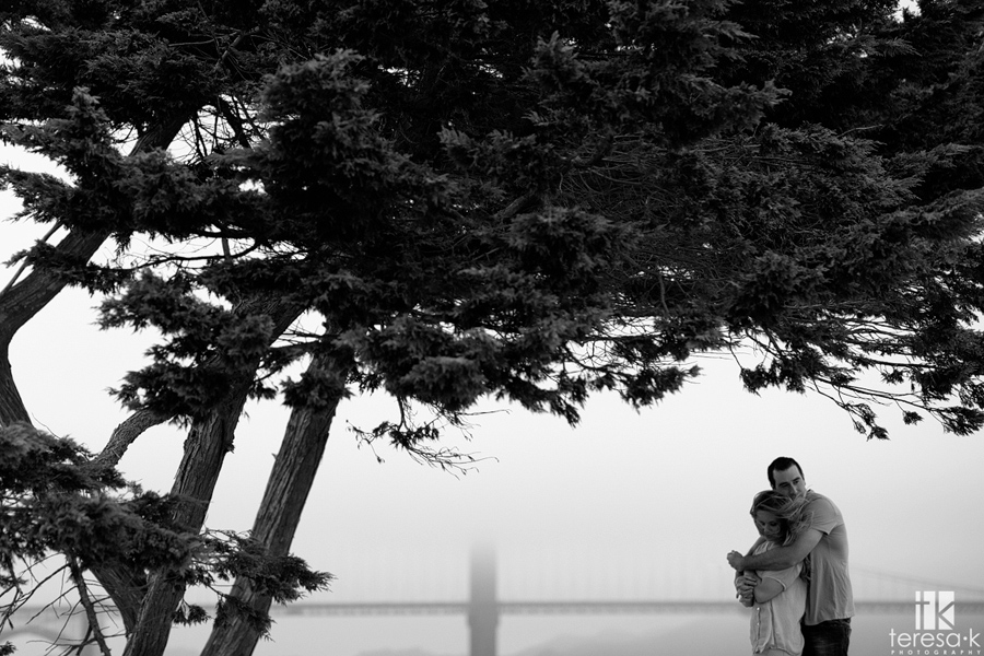 San Francisco Engagement session at the marina district 002
