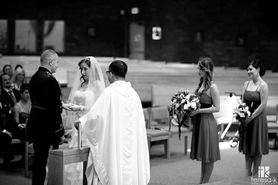 beautiful catholic wedding in Folsom
