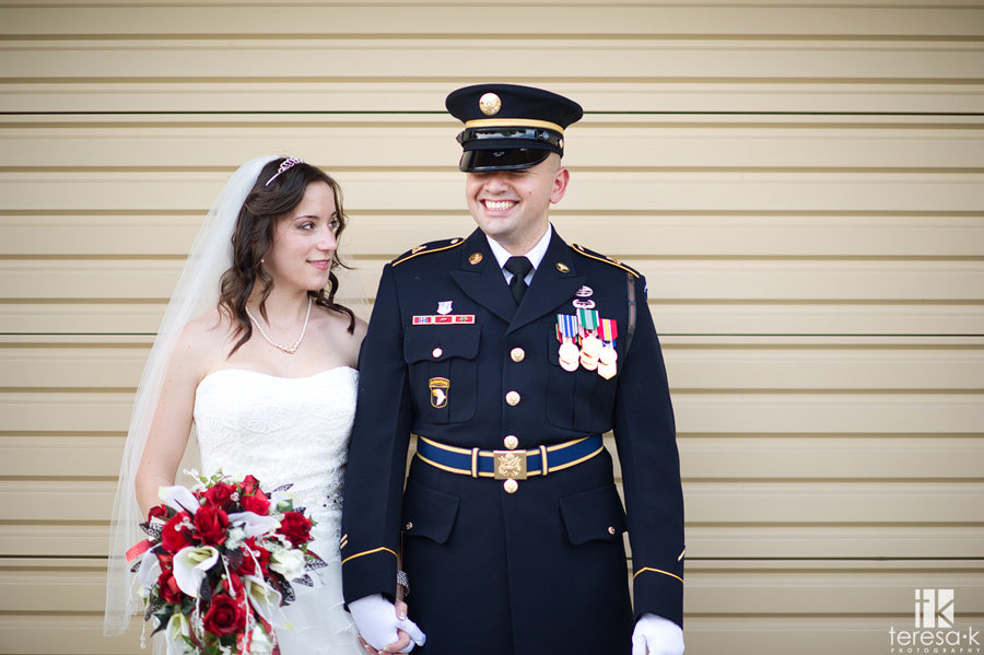 army dress blues for wedding