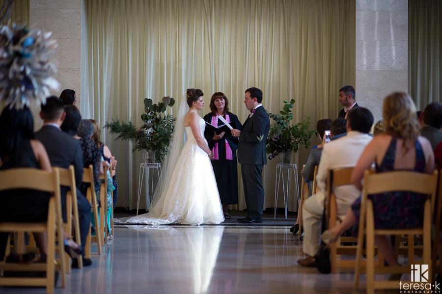 ceremony image from Sacramento grand ballroom