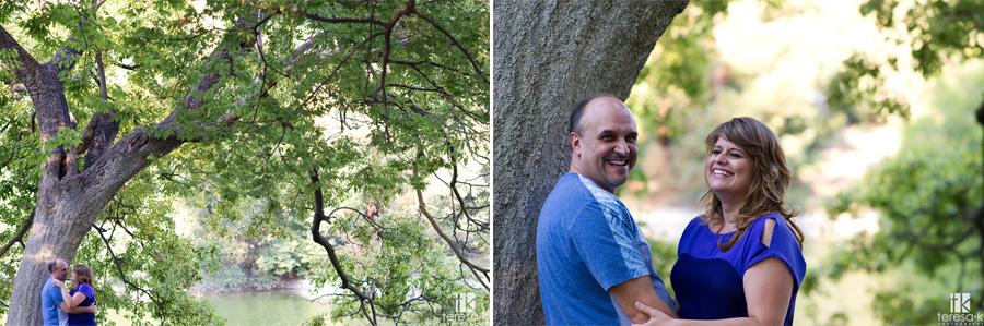 Davis arboretum engagement shoot