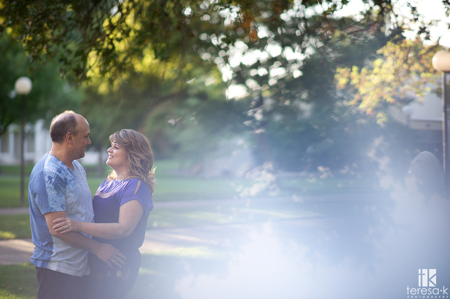 engagement photography in Davis