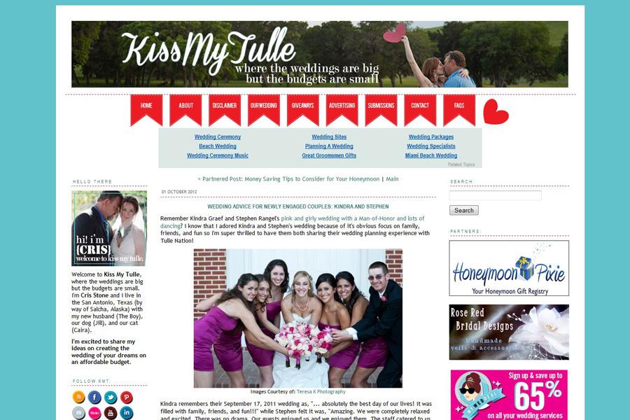 Galt Wedding photographer online feature