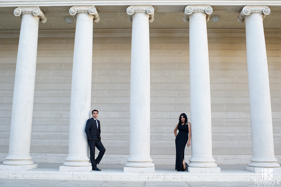 engagement session at the Legion of Honor in San Francisco 001