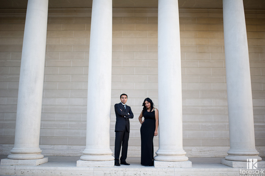 engagement session at the Legion of Honor in San Francisco 002