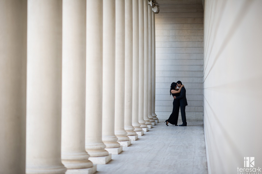 engagement session at the Legion of Honor in San Francisco 003