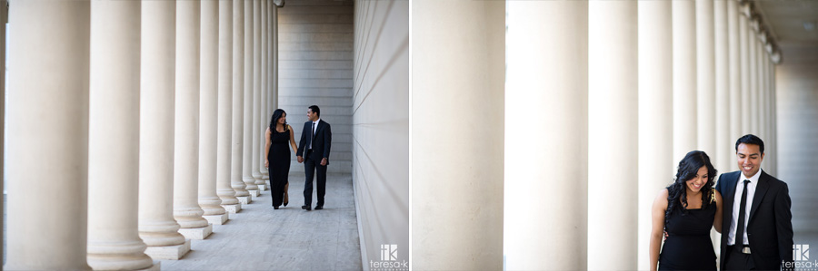 engagement session at the Legion of Honor in San Francisco 004