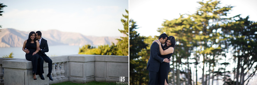 engagement session at the Legion of Honor in San Francisco 007