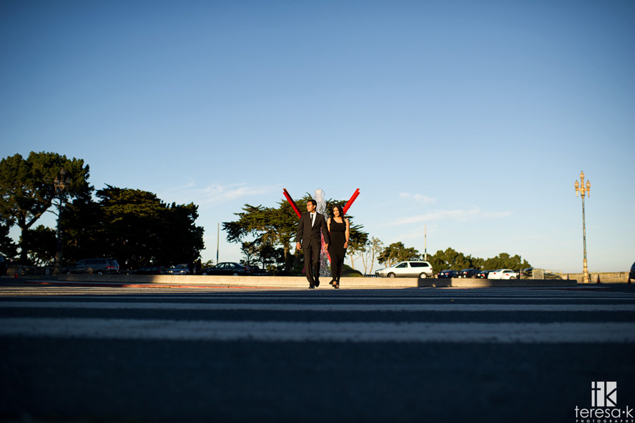 engagement session at the Legion of Honor in San Francisco 013