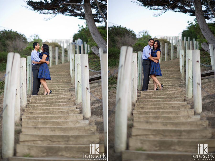 engagement session at China Beach in San Francisco 017