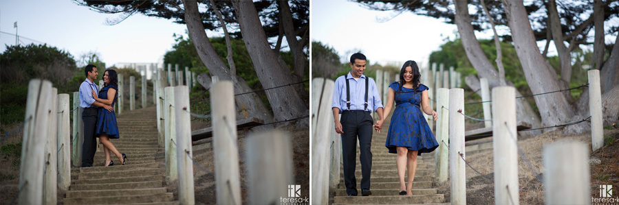 engagement session at China Beach in San Francisco 018