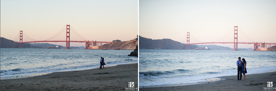 engagement session at China Beach in San Francisco 021
