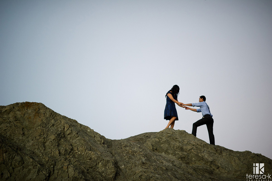 engagement session at China Beach in San Francisco 025