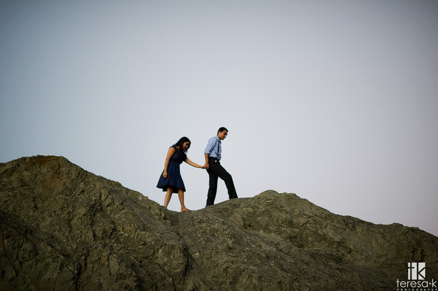 engagement session at China Beach in San Francisco 027