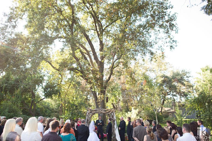 northern California backyard diy wedding 013