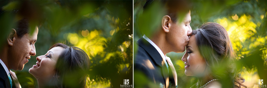 wedding images in the grape vines at the grand island mansion