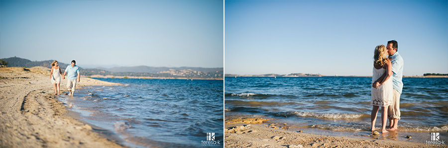 romantic engagement session at folsom lake by Teresa K photography 013