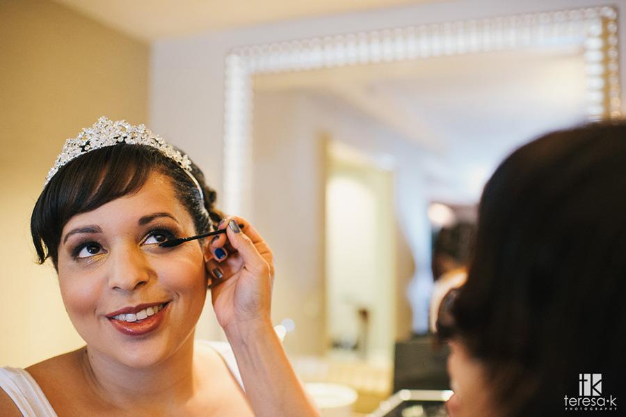 bridal make-up image