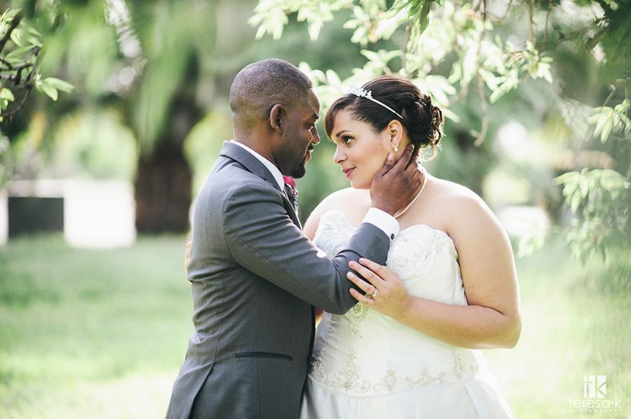 bride and groom portraits in sacramento