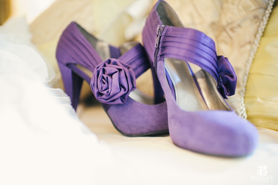 wedding shoes at the ione inn