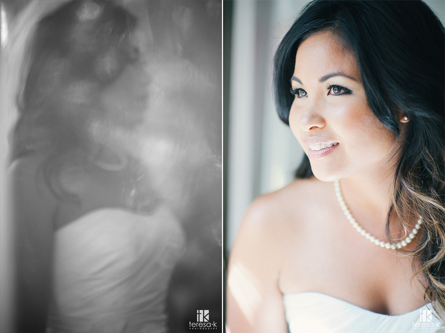 indoor bridal portrait at heirloom inn