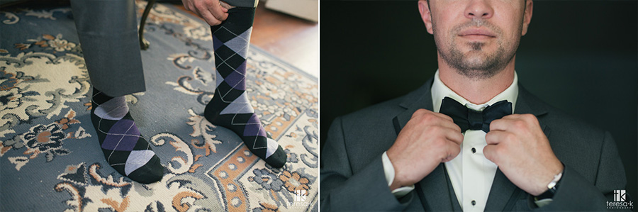 purple argyle socks for wedding
