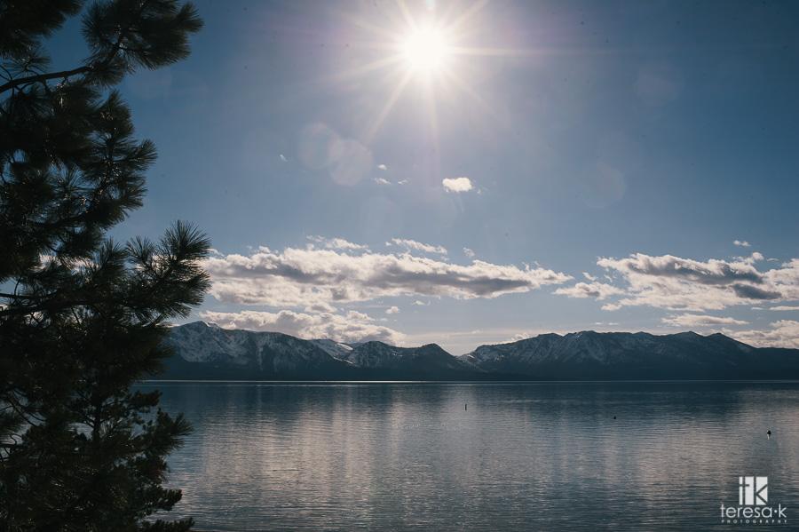 edgewood lake tahoe wedding image