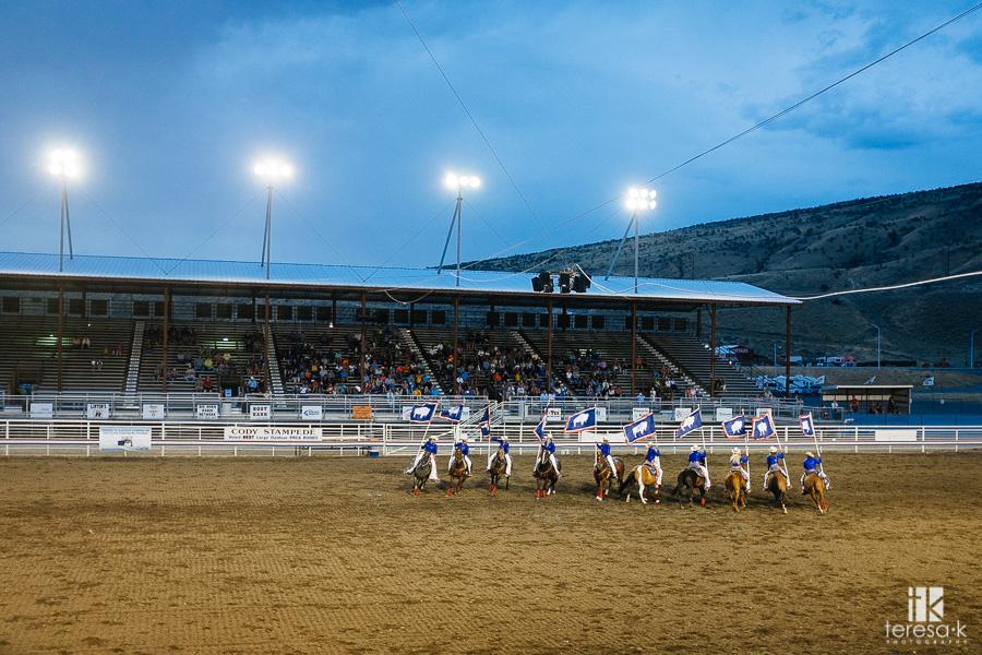 Cody Wyoming rodeo