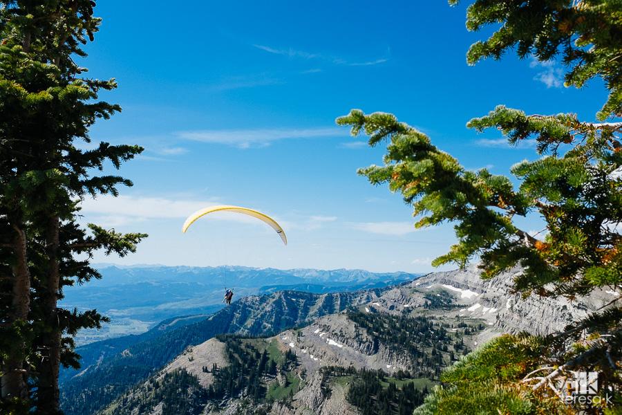 parasailing in Jackson Wyoming