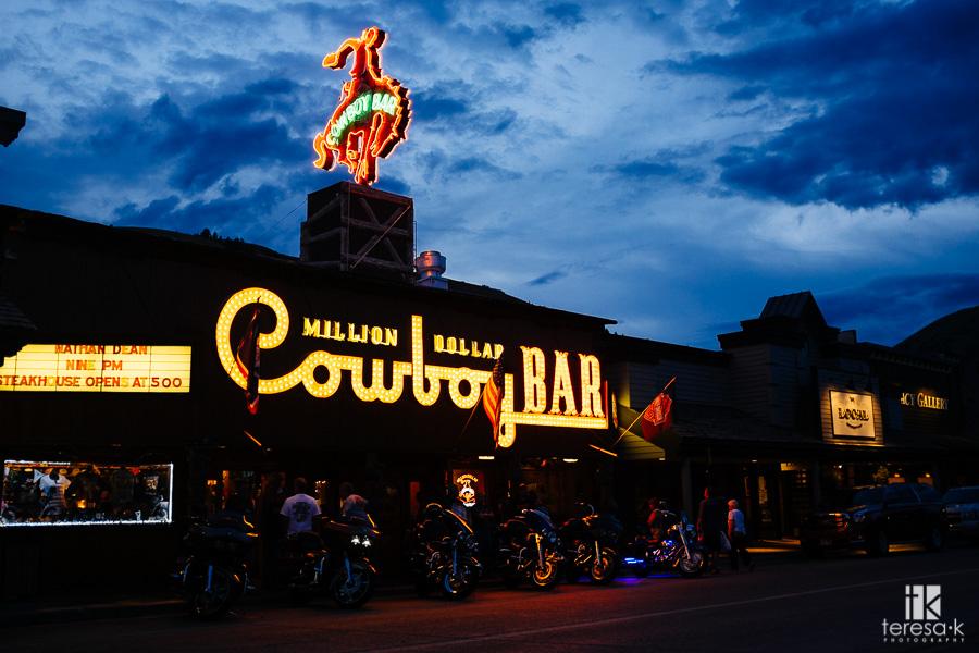 the million dollar cowboy club in Jackson Wyoming