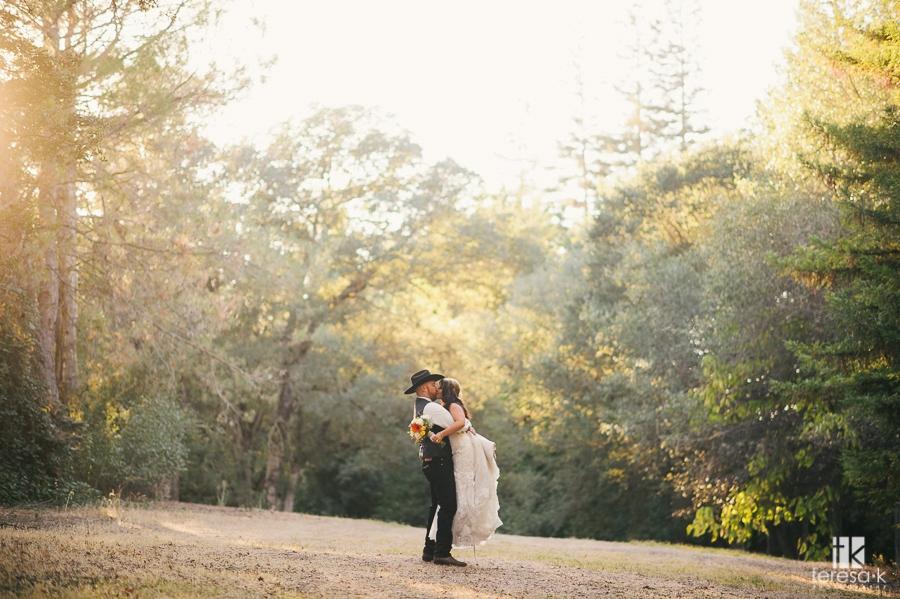 Northern California Cowboy Wedding 45