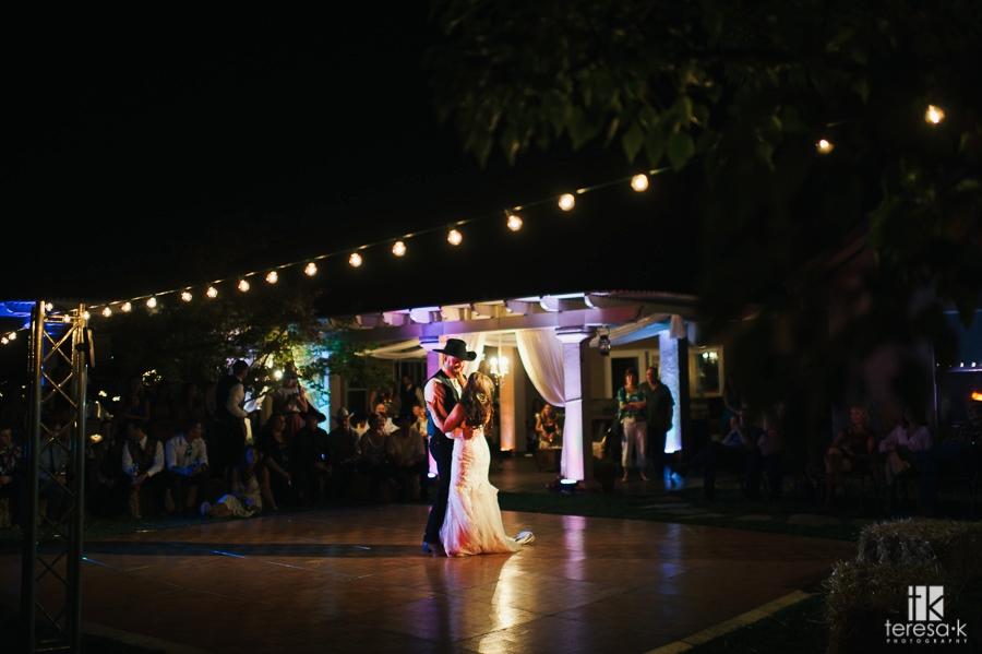 Northern California Cowboy Wedding 73